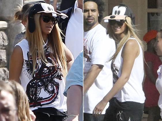 Beyonce at Disneyland Paris